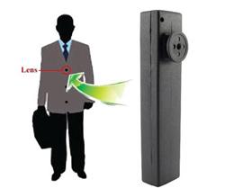 鈕釦型偽裝針孔攝影機