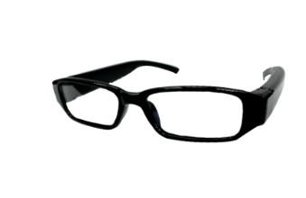 偽裝偵防黑框眼鏡