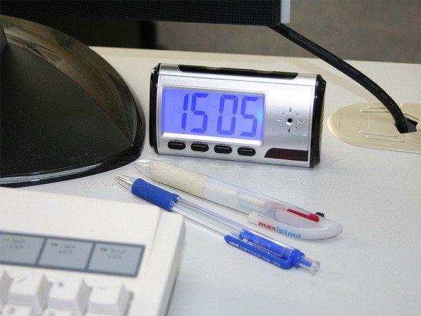 鬧鐘型針孔攝影機-居家防盜蒐證